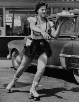 rollerskate-waitress